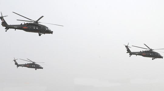 首次参展!陆军直-20亮相天津直博会