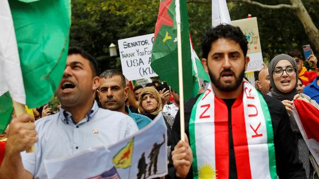 """普京称叙领土完整应彻底恢复 阿盟谴责土耳其""""侵略行为"""""""