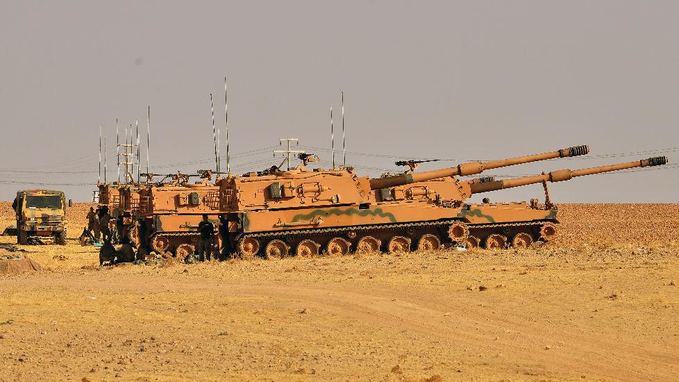 """美媒:库尔德人发起""""地道战"""" 土耳其""""感到惊讶"""""""