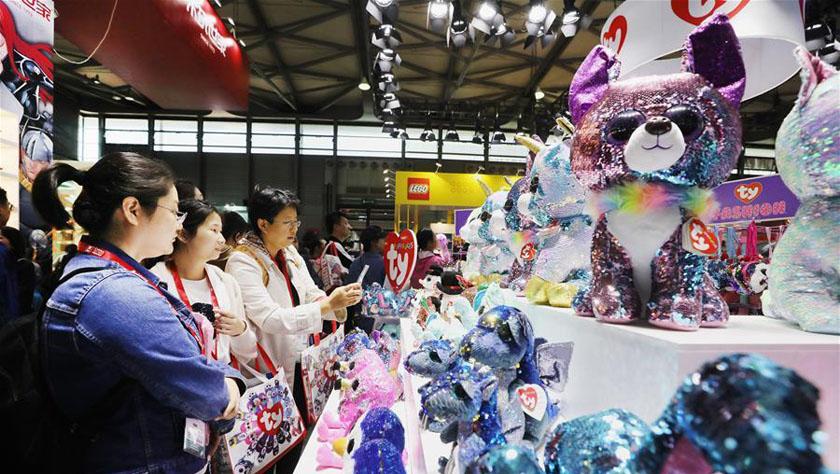 第十八屆中國國際玩具及教育設備展覽會在滬開幕