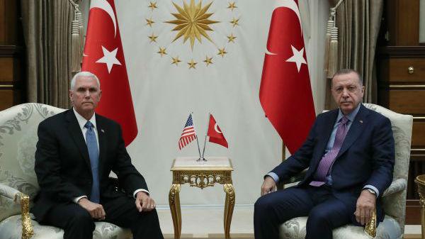 """埃尔多安:土耳其""""不会忘记""""特朗普""""无礼""""来信"""