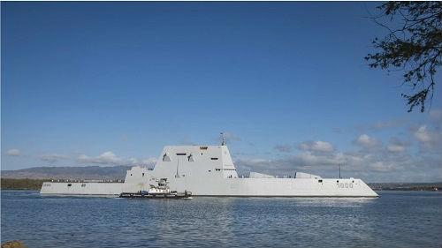 美军最先进战舰服役三年仍不能作战 美媒:还得再等两年