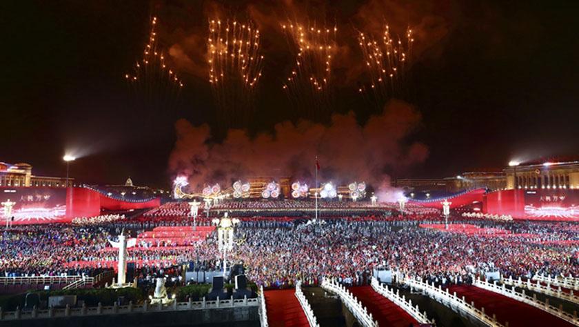 凝聚爱国主义的磅礴力量!——新中国成立70周年盛典启示录