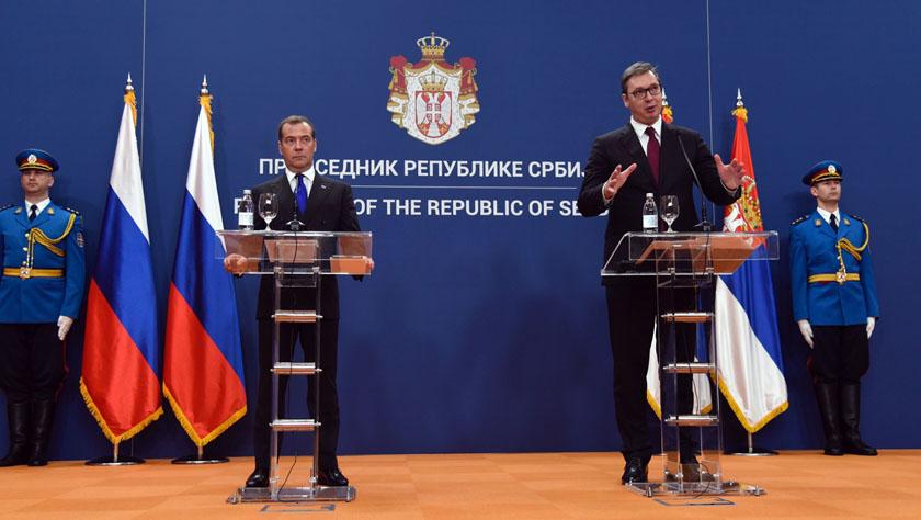 塞尔维亚和俄罗斯签署多项合作协议
