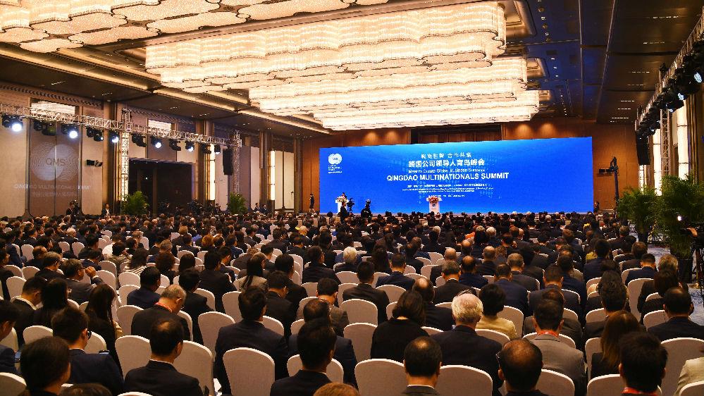 """境外媒体评述中国宣示""""大门只会越开越大"""""""