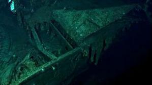 """美国发现中途岛海战日方""""加贺""""号航母残骸"""