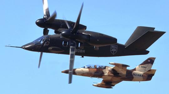 对决喷气机?美军V-280运输机献艺航展