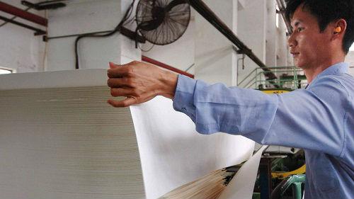 港媒:中國在造紙術上再獲突破 粉煤灰可代替部分木漿
