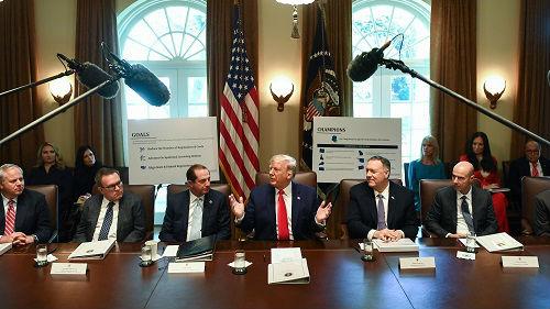 外媒:特朗普稱中美磋商進展順利