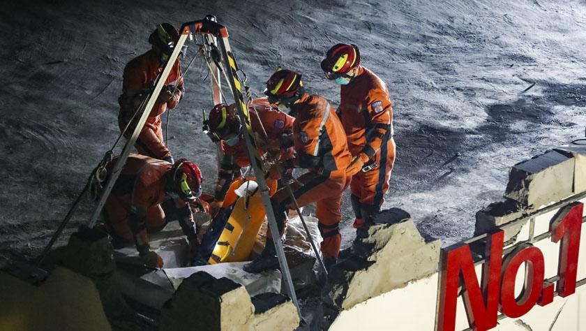我国成为亚洲首个拥有两支获得联合国认证的大发3D重型救援队的国家