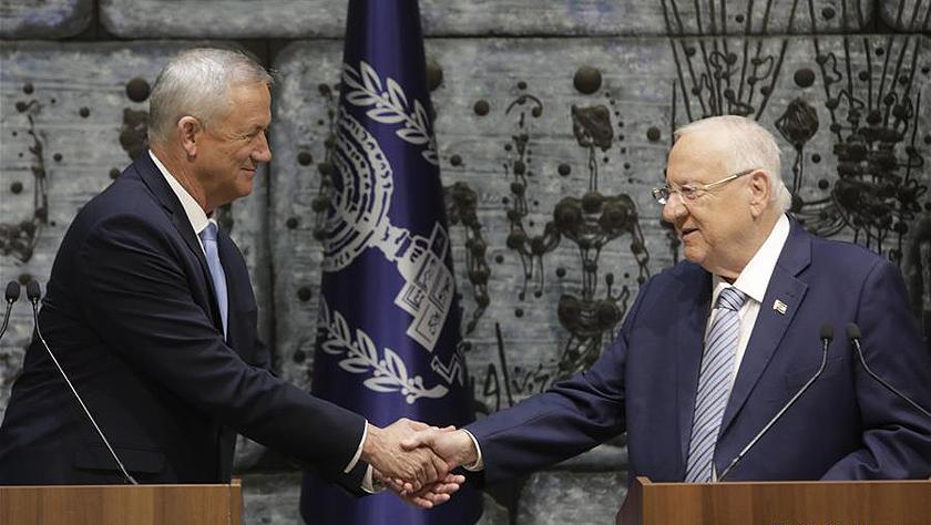 以色列总统授权蓝白党领导人甘茨组阁