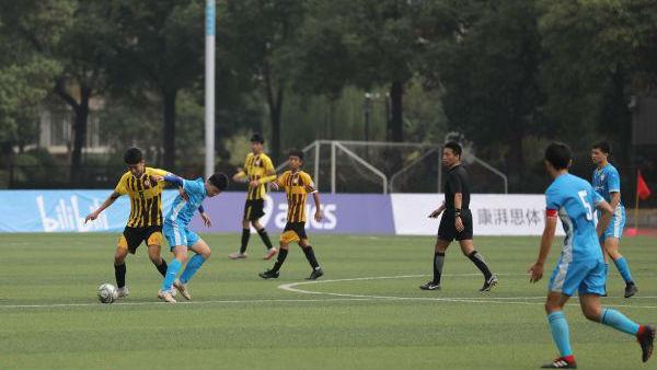 百人牛牛·萨马兰奇杯2019中国高中足球锦标赛第二比赛日