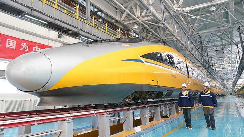 京张高铁最高时速可达385公里 美媒:三小时车程缩至一小时