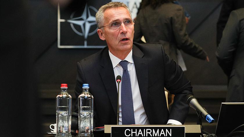 """北约秘书长对德国有关在叙利亚设立""""安全区""""的提议表示欢迎"""