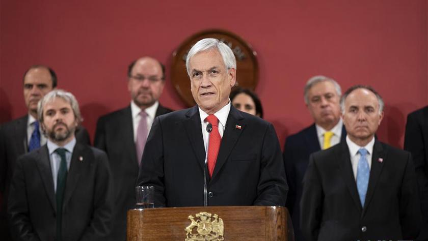 智利总统皮涅拉改组内阁