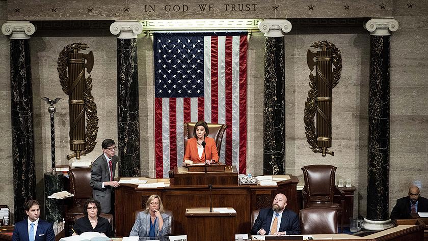 美国会众议院通过针对特朗普的弹劾调查程序决议案