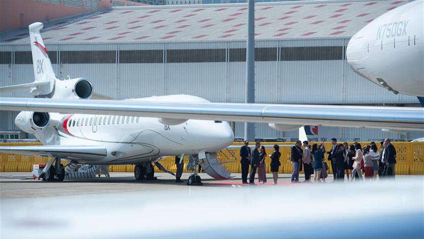 第八届澳门公务航空展开幕