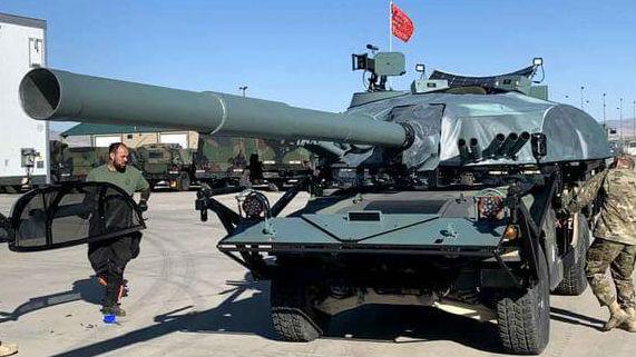 """""""悍马""""变身T-72坦克 美军用电影特效提升军演真实感"""