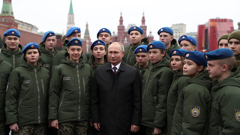 """俄罗斯庆祝""""人民团结日"""""""