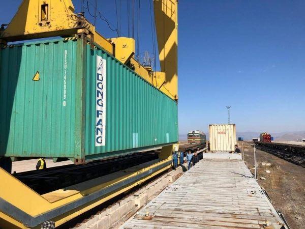货运列车到土耳其