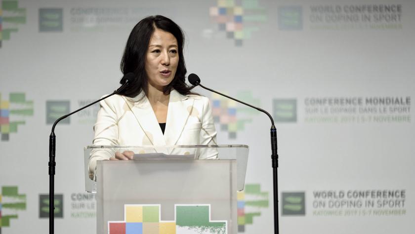 楊揚當選世界反興奮劑機構副主席