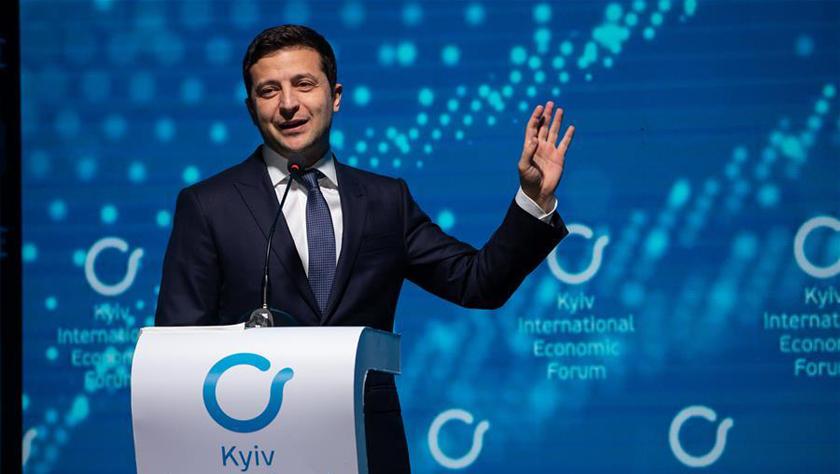 乌克兰总统呼吁国际社会加大对乌投资