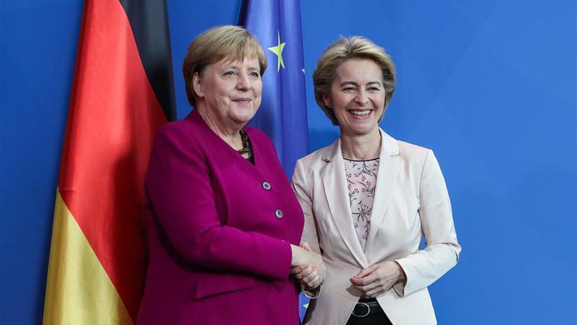 默克尔重申德国5G建设不排除特定供应商