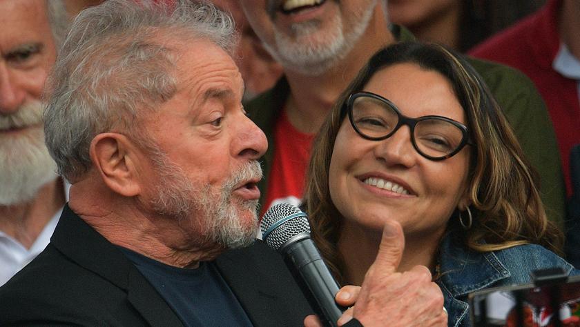 巴西前总统卢拉暂时出狱