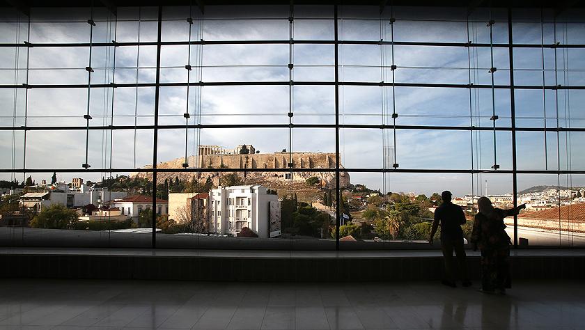 """雅典卫城博物馆的""""文明记忆"""""""