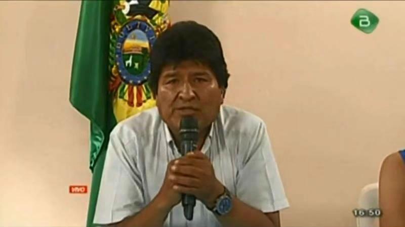"""玻利维亚总统莫拉莱斯辞职引世界关注 多国谴责""""政变"""""""