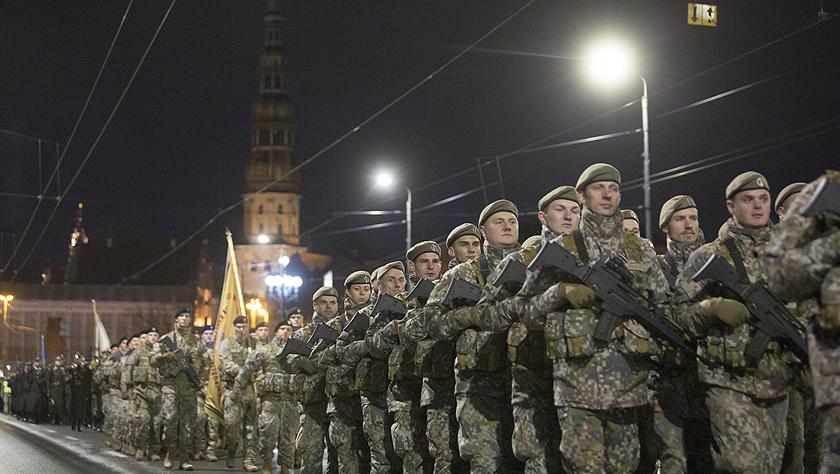 拉脫維亞慶祝祖國保衛者日