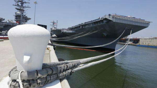 新航母竟无法使用F-35 美海军重大失误令国会恼火