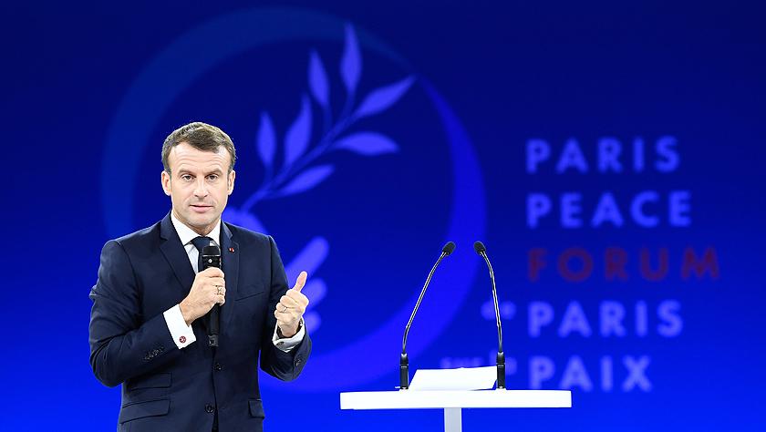 第二屆巴黎和平論壇開幕