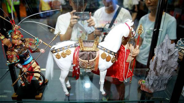 """手办在中国已成""""大生意"""" 港媒:是青少年最喜欢的消遣"""