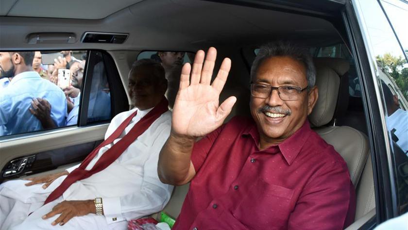 斯里兰卡反对党候选人赢得总统选举