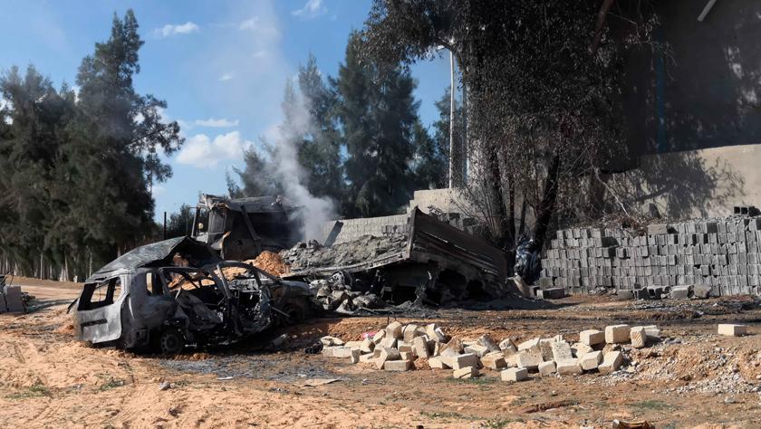 利比亚首都南部遭空袭致7人死亡
