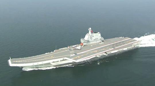 通过台湾海峡!国产航母试航新细节曝光