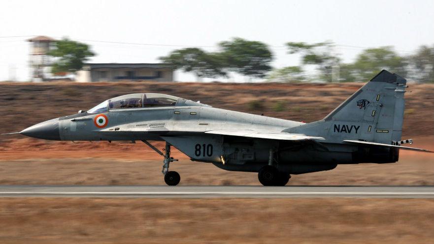 事故不断!印度海军损失第二架米格-29K舰载战机