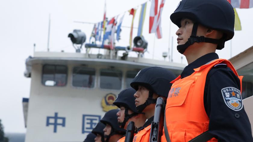 第88次中老緬泰湄公河聯合巡邏執法啟動