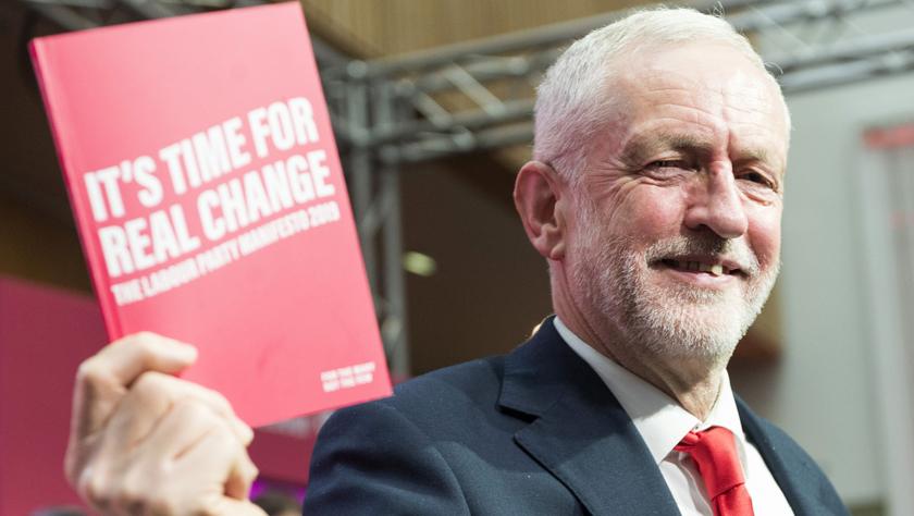 英国工党发布竞选宣言