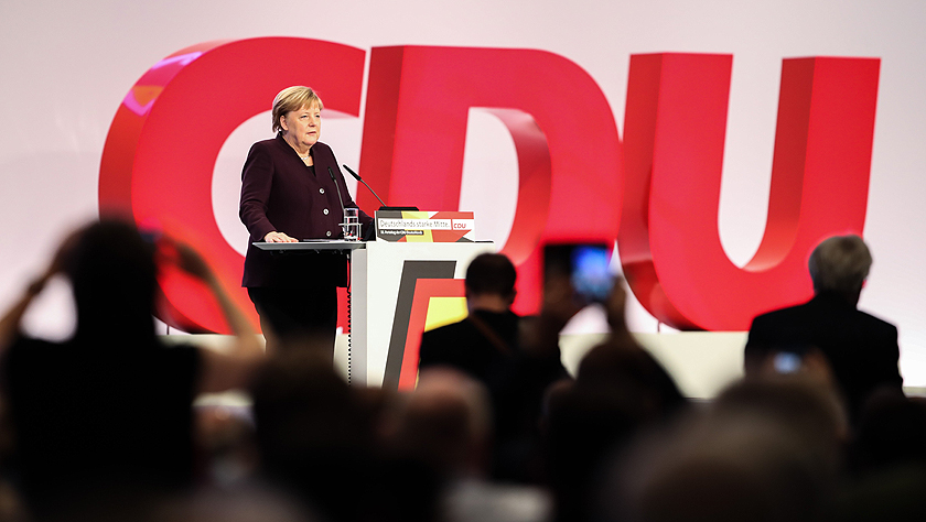德国基民盟举行全国党代会