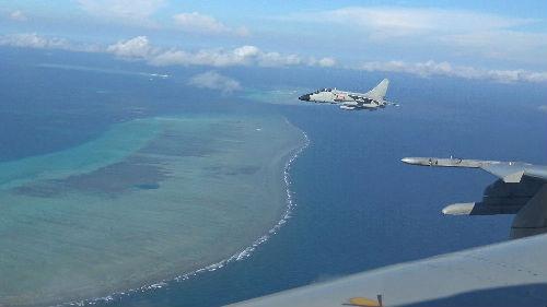 外媒:中方促美勿來南海挑釁冒險