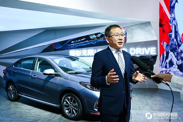 奇瑞汽車黃招根:以用戶體驗為核心 打造有溫度的汽車品牌