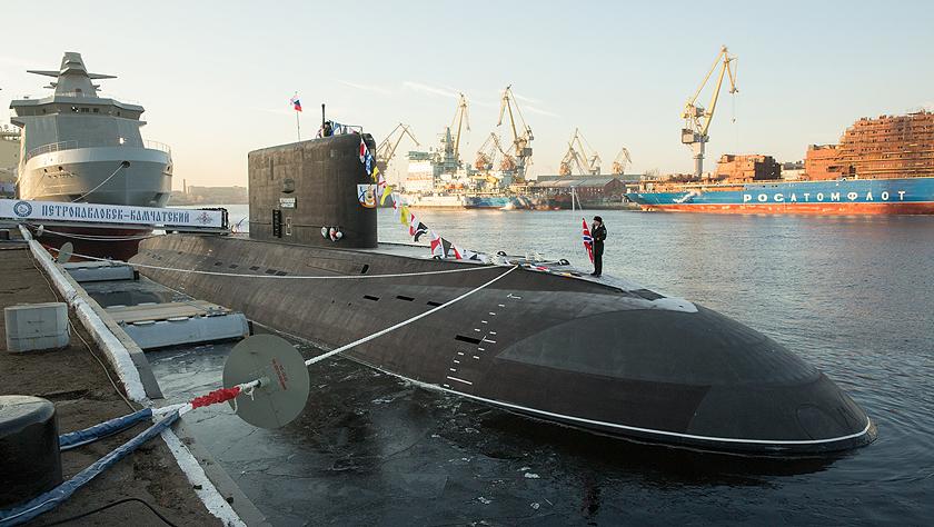 俄为太平洋舰队建造的首艘636.3型潜艇交付五分六合