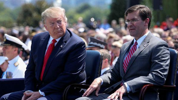 """外媒:特朗普與軍方""""地震""""烈度升級 被指削弱軍方權威"""