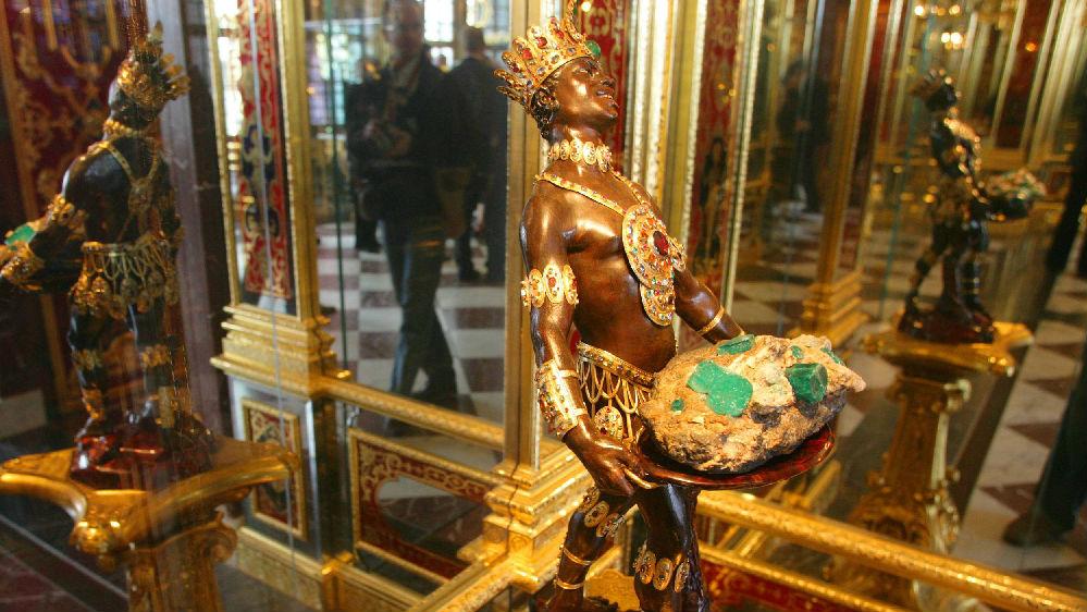 外媒:德国一珍宝馆失窃 价值近10亿欧元