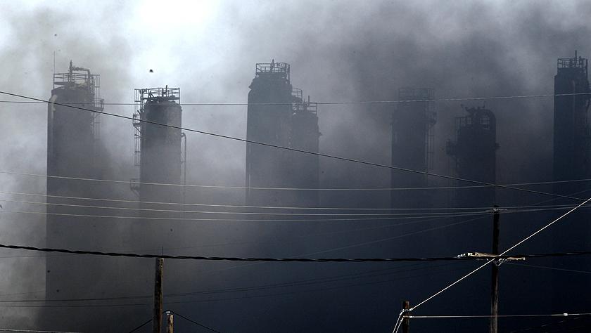 美国得州一化工厂爆炸
