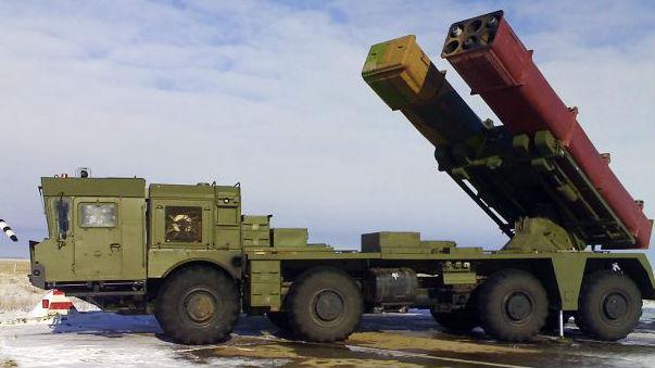打击精度堪比战术导弹 俄军中亚部署大威力远程火箭炮