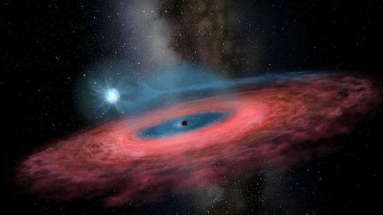 中国科学家发现超大黑洞 法媒:质量是太阳的70倍