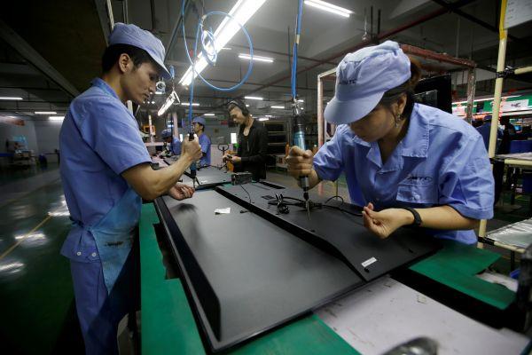 美媒关注:中国制造业PMI重回扩张区间